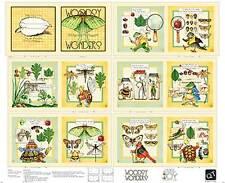"FABRIC QT ~ CLASSIC STORYBOOKS WOODSY WONDERS ~ 1 yard  PANEL 36"" x 45"""