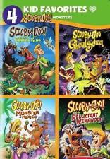 NEW!!! 4 Kid Favorites: Scooby-Doo Monsters (DVD, 2016)