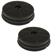 2 Charcoal Carbon Round Filters For CDA CST6 CHA5 Cooker Hood Extractors