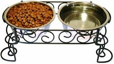 Ethical Products Stainless Steel Scroll Work Double Diner