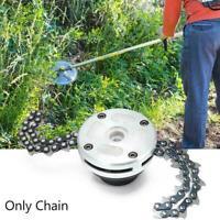 Coil 65Mn Chain Brushcutter Garden Grass For Lawn Head New Mower Trimmer C9I4