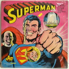 SUPERMAN LP Album Power Records #8169 1975 SEALED 3 STORIES