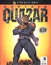 Captain Quazar PC CD evil crime lords space zombie slaves action shooter game!