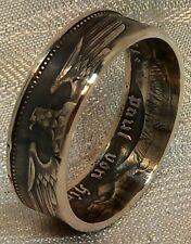 Münzring/Coin Ring  625er Silber 2 RM  *Paul v. Hindenburg* 1936-1939 Gr. 48-72