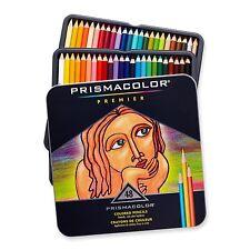 Prismacolor Premier Colored Pencils Soft Core 48-Count Tin Case Sealed!