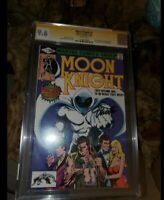 MOON KNIGHT #1 CGC 9.6 GEM * 1st IN HIS SERIES * KEY BEAUTY - SIGNED SHOOTER