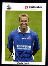 Moritz Hoeft Karlsruher SC 2002-03 TOP AK  + A 72127