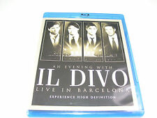 Il Divo - Live In Barcelona ( An Evening With ) * BLU RAY DISC 2009 *