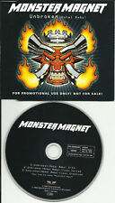 MONSTER MAGNET Unbroken 2 RARE TRX GERMAN PROMO DJ CD Single USA seller