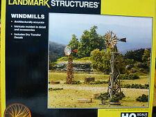 Woodland Scenics HO #5192 Windmills - Landmark Structures(R) -- Kit  Form