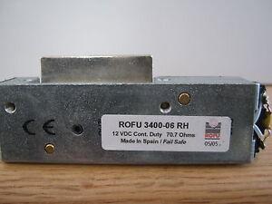 ELECTRIC DOOR STRIKES ROFU 3400-06RH