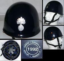 F  NEUF: Casque F1 Gendarmerie dptale avec insigne / New French Blue MP Helmet