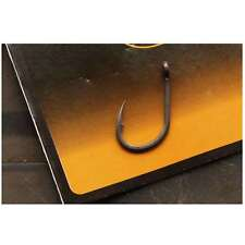 Gr. 2-10 Angelhaken für Karpfenmontagen Haken Fox Karpfenhaken S3 Kuro Hook