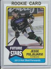2015 Jesse Puljujarvi Hot Shot Prospects Future Stars Rookie Card RC Mint