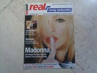 MADONNA  rare  *promo only*  HIT SHOP REAL,-  cover magazine CHER