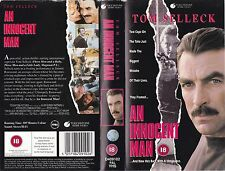 AN INNOCENT MAN VHS PAL TOM SELLECK,F MURRAY ABRAHAM,J KENNETH CAMPBELL 80S RARE