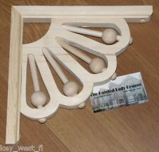 "Victorian Wood Gingerbread {9"" x 9""} Porch & House Trim Bracket #24 ~ by Pld"