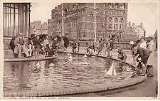 Children's Pond, Model Yachts & Hotel Majestic, ST. ANNES ON SEA, Lancashire