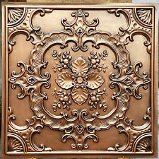 PL19 Faux tin ceiling tiles antique embossed background wall panels 10tiles/lot