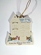 "Lenox 1998 Christmas Ornament ~ ""From Your Home to Our Home"" ~ ""Merry Christmas"""