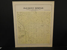 Wisconsin, Dane County Map, 1899 O2#08 Pleasant Springs Township