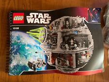 LEGO Star Wars UCS Death Star Set No 10188 Complete W/ Minifigures Unbuilt Ex