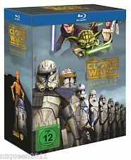 Star Wars: The Clone Wars - Staffel 1-5 Box [Blu-ray] * NEU & OVP *