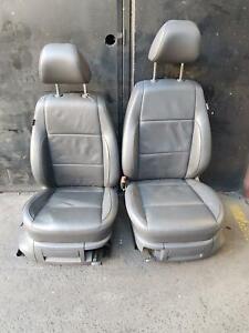 VOLKSWAGEN AMAROK BLACK LEATHER SEAT INTERIOR KIT 2H, 02/11-