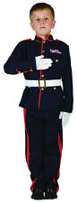 BOYS ARMY UNIFORM ROYAL GUARD SOLDIER MILITARY KIDS COSTUME OUTFIT 4-6-8-10