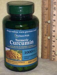 TURMERIC CURCUMIN w/ Black Pepper, 60 rapid release capsules