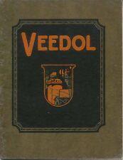 VEEDOL lubrificante motori a combustione interna Tide Acqua Olio LIBRETTO USA 1926