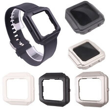 Fr Fitbit Blaze!Silicone Replacement Bracelet Strap Band+Frame Holder Case Cover
