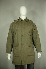 Giorgio Armani le collezioni jacket M to L parka coat hooded military green