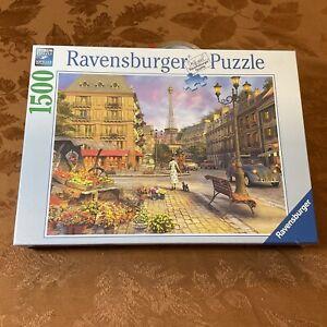 Ravensburger Puzzle Vintage Paris 1500 pc NIB