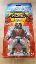 MOTU - He Man - The Evil Horde - 1984 - HORDAK Figure  Carded - New - Rare