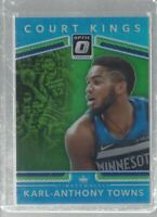 Karl-Anthony Towns 2017-18 Panini Donruss Optic Court Kings SP/25 Wolves NBA!!