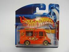 057 Hot Wheels Mattel Saucey Sanders Tropicool Food Van Carded Sealed 3/4