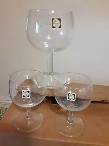 Maastricht Holland Crystal Wine Glasses 12 NWT. Old Vintage never used