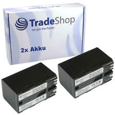 2x Trade-Shop Akku 7,4V 4900mAh für Canon BP925 BP955 BP970G BP975 BP950G BP950