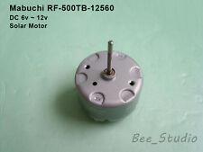 DC 6v~12v Mabuchi RF-500TB-12560 Micro mini Solar Motor for Car AV CD-ROM DVD