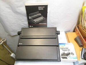 vintage AT&T Model 6100 Electronic Typewriter with Manual, extra Ribbon & Box NR