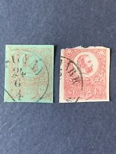 1874 Hungary  Stationary Stamp 5kr.