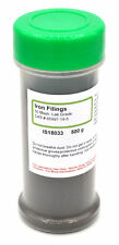50 Mesh Laboratory-Grade Iron Filings, 500g - The Curated Chemical Collection