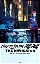 HURRAY FOR THE RIFF RAFF Navigator 2017 Ltd Ed RARE New Poster +FREE Folk Poster