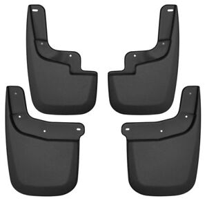 Fits 15-21 Colorado Canyon Husky Liners Molded Mud Guard Flaps 4pc Set NEW 58236