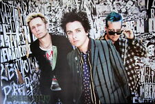 "GREEN DAY ""BAND SHOT ON REVOLUTION RADIO WALL"" POSTER FROM ASIA- Punk Rock Music"