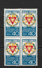 Brazil 1944,YMCA Seal,Block Scott # 622,VF MNH**