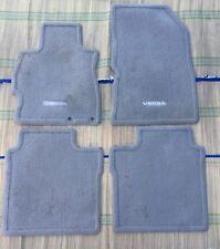 2012-2015 Nissan Versa Sedan OEM Beige Carpet Floor Mats