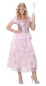 Glitter Pink Princess World Book Day Fairy Ladies Fancy Dress Costume  L 14-16