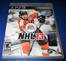 NHL 13 Sony PlayStation 3 - PS3 - *Factory Sealed! *Free Shipping!